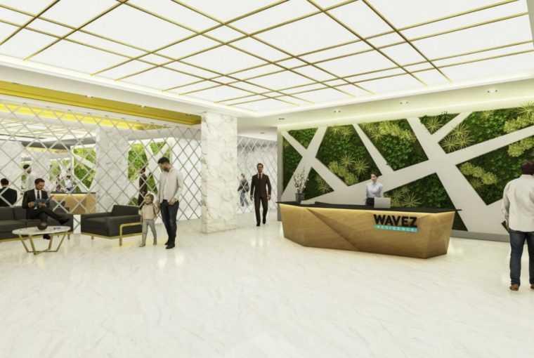 فروش آپارتمان دبی پروژه WAVEZ RESIDENCE